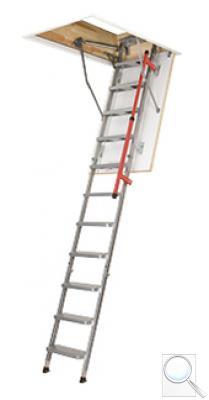 LML Lux zateplené skládací schody s kovovým žebříkem