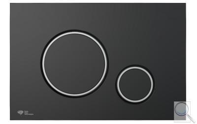 Ovládací tlačítko SAT plast černá mat SATAT78 obr. 1