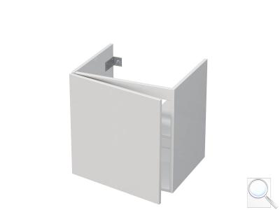 Koupelnová skříňka pod umyvadlo Naturel Ratio 51,5x56x37 cm bílá lesk PN561DL56PU.9016G obr. 1