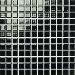 Mozaika černá | rozměr:  30 x 30 cm | kód: MOS23BK