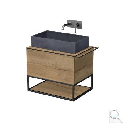 Umyvadlová skříňka OXO S pravým otvorem na ručník