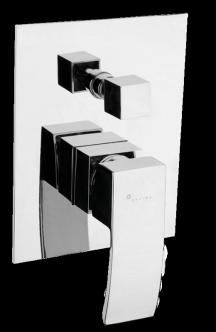 Vanová baterie podomítková