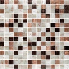 Mozaika hnědá | rozměr:  32,7 x 32,7 cm | kód: MOSJ20MIXBR