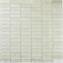 Mozaika bílá | rozměr:  30 x 30,5 cm | kód: MOS4815CRWH