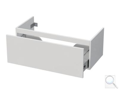 Koupelnová skříňka pod umyvadlo Naturel Ratio 95,5x36x37 cm bílá lesk PN1001Z36PU.9016G obr. 1