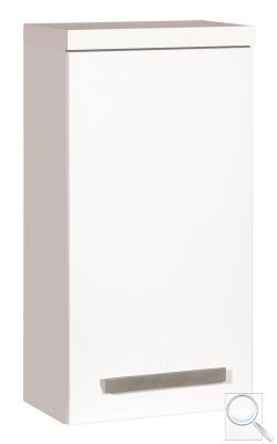 Koupelnová skříňka nízká Cube Way bílá, bílá lesk