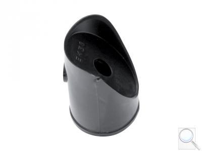 Koncovka vzpěry PVC - černá