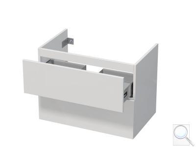 Koupelnová skříňka pod umyvadlo Naturel Ratio 75,5x56x37 cm bílá lesk PN802Z56PU.9016G obr. 1