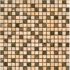 Mozaika béžová   rozměr:  30,5 x 30,5 cm   kód: STMOS15MIX4