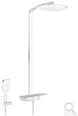Sprchový systém Hansa EMOTION s termostatickou baterií šedá/chrom 5865017184