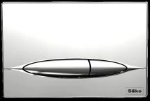 Tlačítko SIKO napodomítkové nádrže