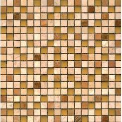 Mozaika béžová   rozměr:  30,5 x 30,5 cm   kód: STMOS15MIX2
