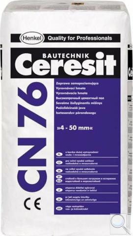 Vyrovnávací hmota Ceresit 4-50 mm 25 kg