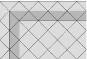 Rubio - reliéfní povrch (vzorová skladba vd6)