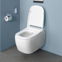 Závěsné WC sbidetem