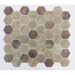 Mozaika brown | rozměr:  28 x 32,5 cm | kód: MOSV45WBR