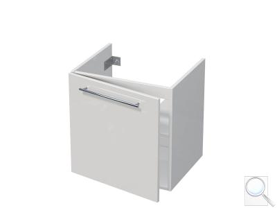 Koupelnová skříňka pod umyvadlo Naturel Ratio 58x56x45 cm bílá lesk MK601DL56.9016G obr. 1