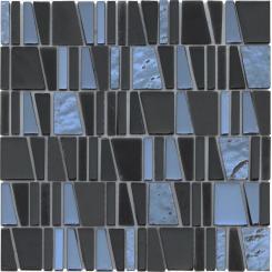 Mozaika černá | rozměr:  30 x 30 cm | kód: MOSCUBEBK