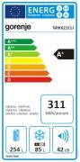 Gorenje NRK621CLI (energetický štítek)