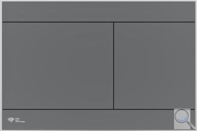 Ovládací tlačítko SAT Dark PVD Gun Metal obr. 1