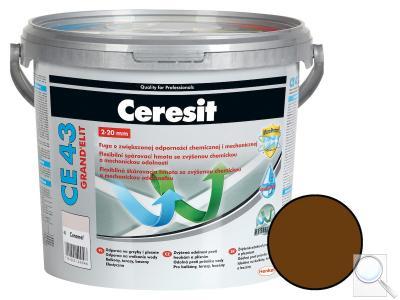 Spárovací hmota Ceresit CE 43 chocolate 5 kg CG2WA