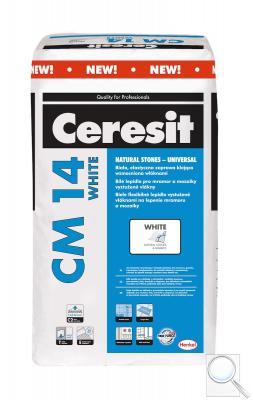 Lepidlo Ceresit CE 14 White bílá 25 kg C2TE