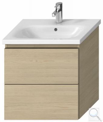 Koupelnová skříňka pod umyvadlo Jika Mio-N 57x44,5x58,8 cm Jasan (kódH40J7144013421)