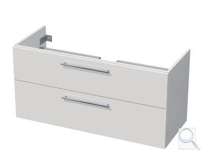 Koupelnová skříňka pod umyvadlo Naturel Ratio 122x56x38,5 cm bílá lesk PN1252Z56.9016G obr. 1