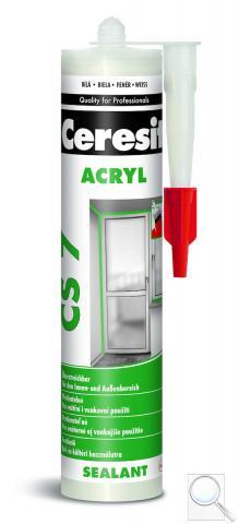 Akrylový tmel Ceresit CS 7 bílá 280 ml