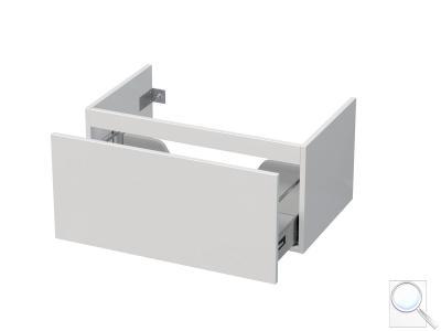 Koupelnová skříňka pod umyvadlo Naturel Ratio 75,5x36x37 cm bílá lesk PN801Z36PU.9016G obr. 1