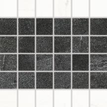 Mozaika RAKO Vein černobílá