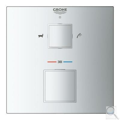 Termostat Grohe Grohtherm Cube bez podomítkového tělesa chrom 24155000