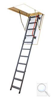 LMK Komfort zateplené skládací schody s kovovým žebříkem