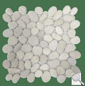 Kamenná mozaika Mosavit Trip piedra extrablanca