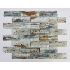 Mozaika blue | rozměr:  26,4 x 30 cm | kód: MOSV98BBL
