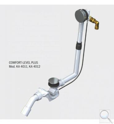 Comfort Level Plus 4012 prodloužený, chrom 687772380999