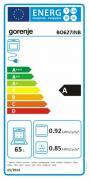 Vestavná trouba Gorenje BO 627 INB (Energetický štítek)