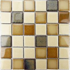 Mozaika béžová | rozměr:  30,5 x 30,5 cm | kód: MOS48MIX2