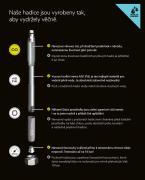 H081A3-06 Flexira Hadice voda Aqua Plus G3/8 - M10 x1 (obr. 3)