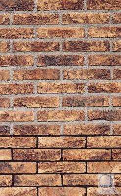 FB 1205 Violet Ruční ražený obkladový pásek,  Rustikální lícová cihla