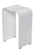 Stolička sprchová (Provedení bílá)