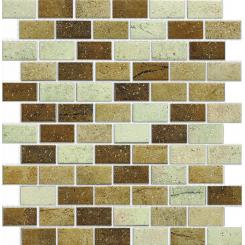Mozaika béžová | rozměr:  30 x 30 cm | kód: MOS4823MIXBE