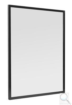 Zrcadlo v černém rámu