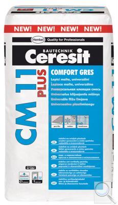 Lepidlo Ceresit CM11 Plus 25 kg šedá (C1T)