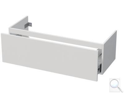 Koupelnová skříňka pod umyvadlo Naturel Ratio 122x36x38,5 cm bílá lesk PN1251Z36PU.9016G obr. 1