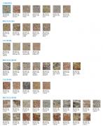 Tvarovka štípaná ze 4 stran - sloupová (Barvy KB 15-21 B 400 Rustik)